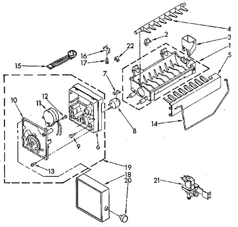 kenmore maker parts diagram kenmore maker parts model 8150 sears partsdirect