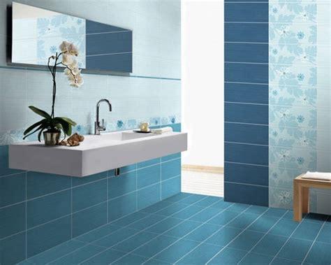 blue tiles bathroom ideas 10 ba 241 os en color celeste