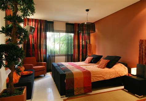 orange bedroom ideas orange and brown bedroom ideas photos and video