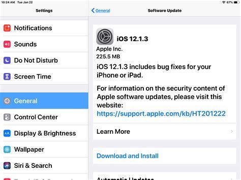 ios  update released  iphone ipad