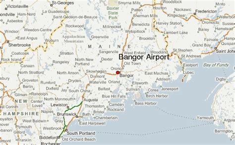 bangor maine map bangor international airport weather forecast