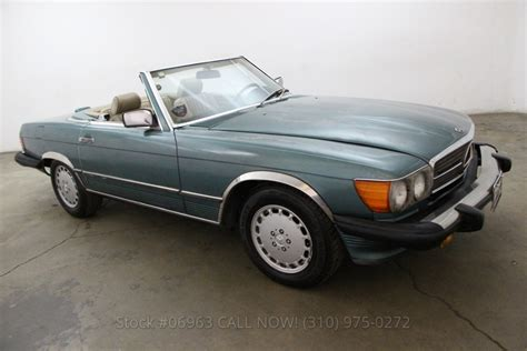Mercedes 1989 For Sale 1989 Mercedes 560sl For Sale 4 950 1454720