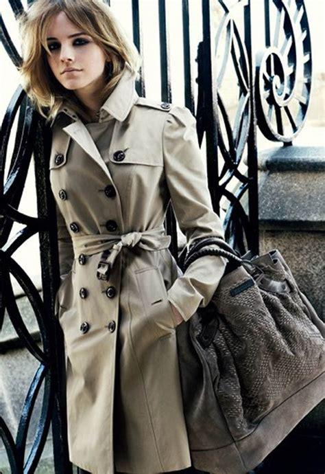 emma watson burberry classic style for women