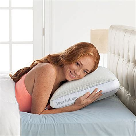 Brookstone Cooling Pillow by Brookstone Biosense Cool Air Pillow Bedroom Store