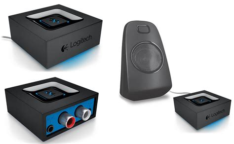 Logitech Audio Adapter Bluetooth Speaker Receiver turn your favorite speakers into a wireless bluetooth system the gadgeteer