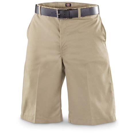 Nuzila Syari Khaki By Amily dickies 174 flat front work shorts khaki 226597 shorts at