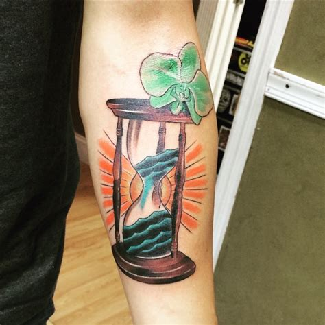 hourglass tattoos for men ideas and inspiration for guys