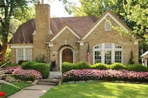 brick tudor cottage home