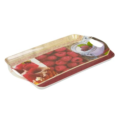 Dinner Tray by Melamine Serving Trays Fruit Dinner Tea Coffee Sandwich