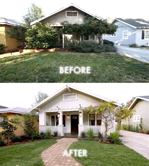 Small House Curb Appeal 8 Small Homes Get Facelifts Omg Lifestyle