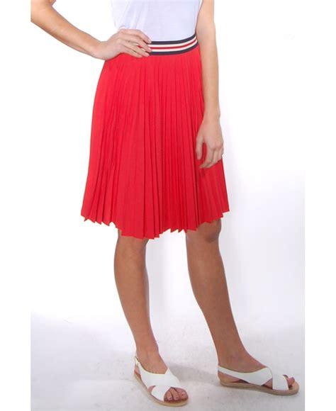 theory zeya crunch pleated skirt in lyst