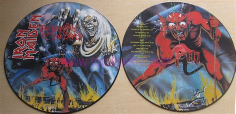 Vinyl Iron Maiden The Number Of The Beast totally vinyl records iron maiden the number of the beast lp picture disc vinyl
