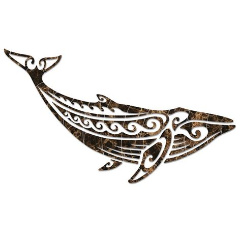 humpback whale tattoo designs tribal humpback whale emperador pool mosaic mosaics