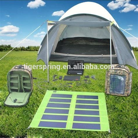 solar powered tent lights solar tent with fan and light with detachable solar panel