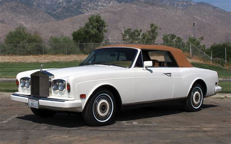 rolls royce corniche ii 1987 rolls royce corniche ii stock r445 for sale near