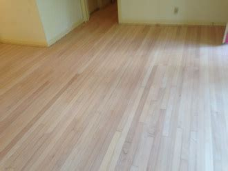 Refinishing clear grade solid Red Oak flooring in Jacksonville