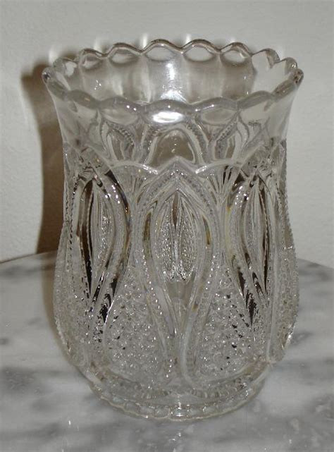 new jersey pattern glass new jersey loops drops celery vase pattern glass circa