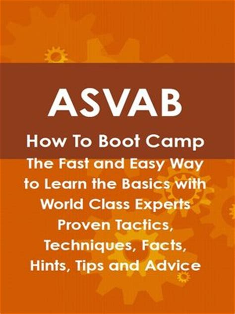 asvab how to boot c the fast and easy way to learn the