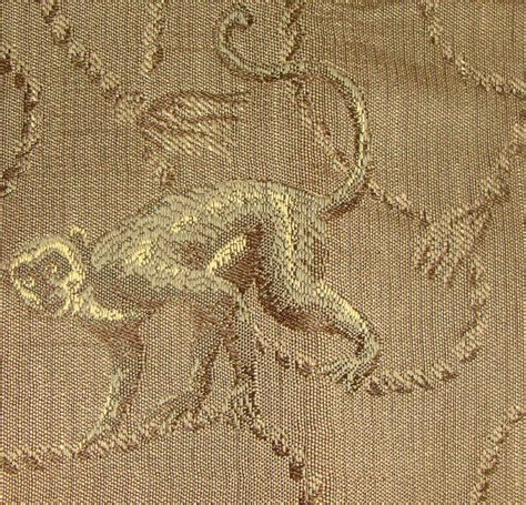 Monkey Upholstery Fabric by Items Similar To Monkeys Upholstery Fabric 1 78yd Woven