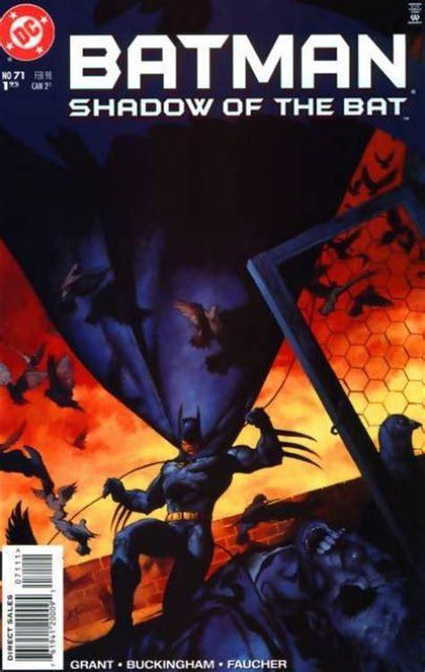 batman the shadow the murder geniuses books batman shadow of the bat volume comic vine