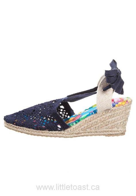 field canada sale wedge sandals navy drk770015673
