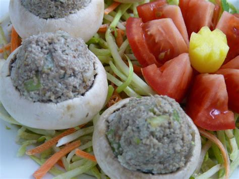 Detox Stuffed Mushrooms by Stuffed Mushrooms Beautiful On