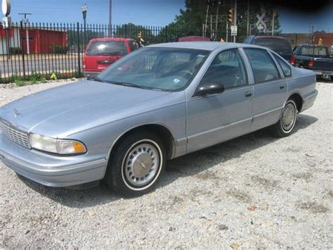 how to learn about cars 1995 chevrolet impala auto manual sell used 1995 chevrolet caprice classic 25 000 original miles in east chicago indiana