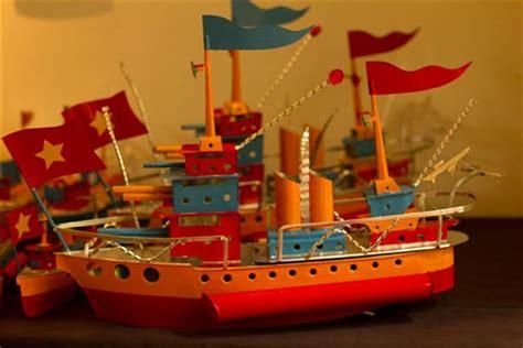 model boats hanoi tin ships re anchor at bookworm hanoi grapevine