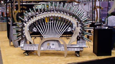 elliptical arch forming rack machine mikron