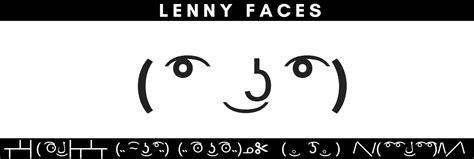 lenny face variations list sad lenny spider lenny centipede lenny