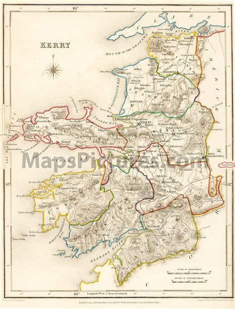 olde ulster vol 6 an historical and genealogical magazine march 1910 classic reprint books county kerry ireland map 1837