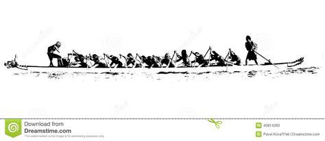 dragon boat racing technique video dragon boat illustration stock vector illustration of