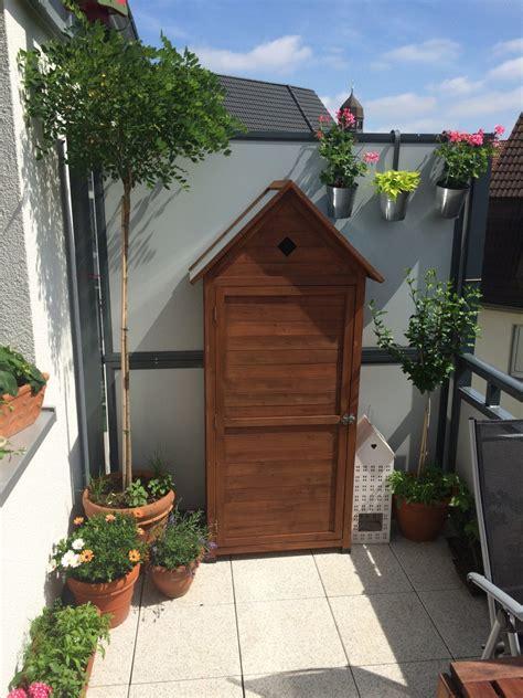 Garten Auf Dem Balkon 3590 by Gartenschrank Auf Dem Balkon Ideen Balkon De