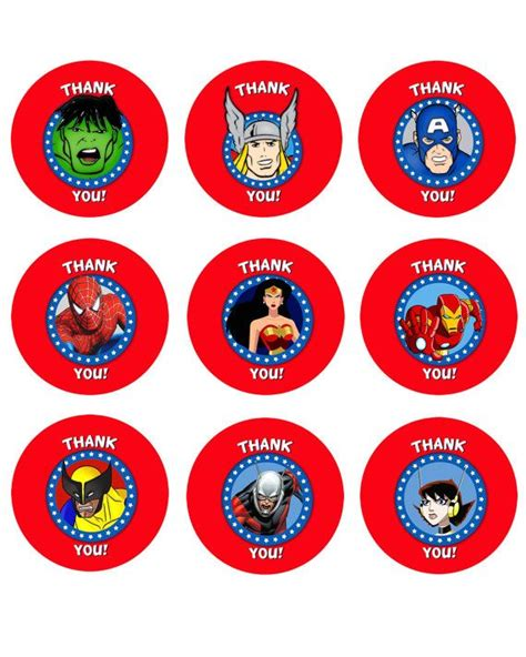 printable avengers labels marvel avengers superheroes printable by