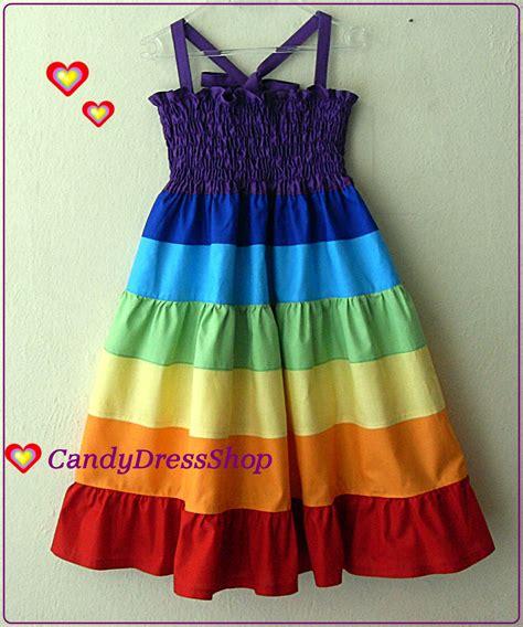 Rainbow Maxy Dress rainbow dress rainbow twirl dress maxi dress for