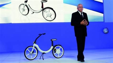 Volkswagen Electric Bike by Vw S Electric Bik E Eco Vation Vdub News