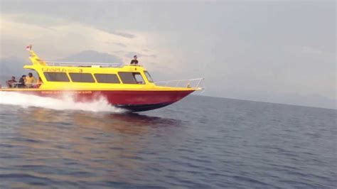 fastest caspla bali boat   sanur  nusa penida youtube