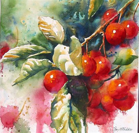 watercolour fruit vegetable 1782210830 10 images about flower paintings on watercolour watercolor artists and poppies