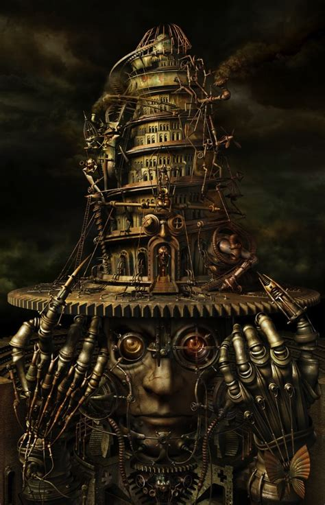 the amazing steampunk art of almacan