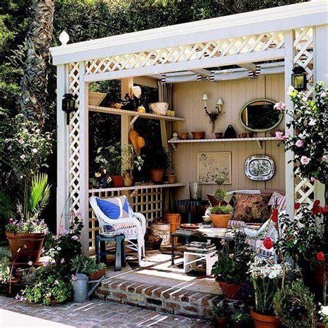 Outdoor Gazebo Rooms Best 25 Shabby Chic Patio Ideas On Shabby