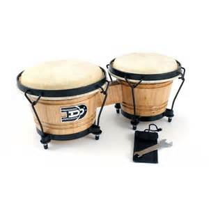 Media Room Chairs For Sale - new in box pair of oak bongo drums hand percussion drum set