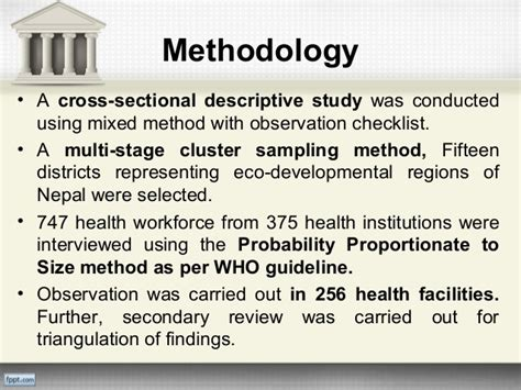 cross sectional descriptive study research review on hrh of nepal