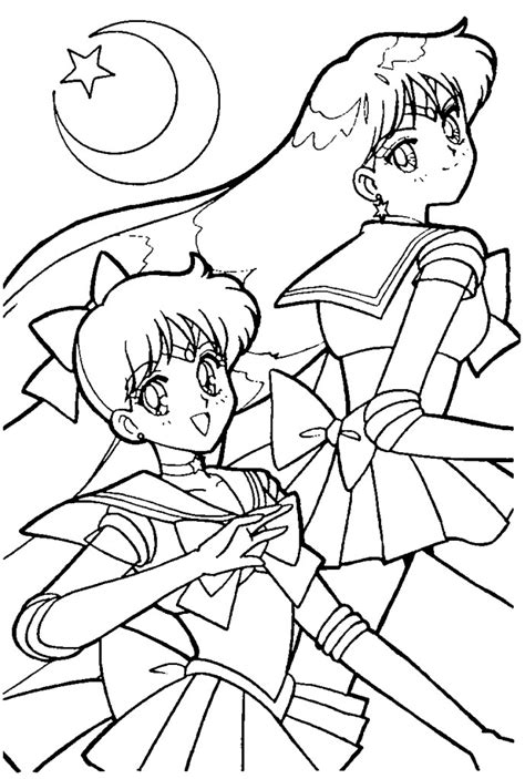 sailor venus coloring pages az coloring pages