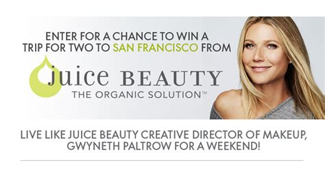 Elle Mag Sweepstakes - want to live like gwyneth paltrow for a weekend