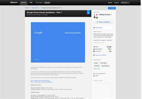 website design guidelines by google 20 inspiring branding guides webdesigner depot