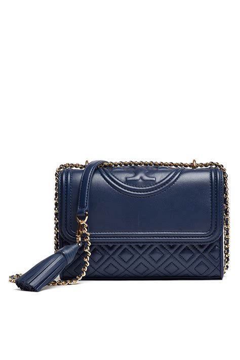 Burch Fleming Maroon Navy navy fleming small convertible bag by burch accessories for 70 rent the runway