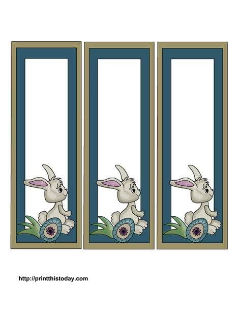 printable easter bookmarks to colour free printable easter bookmarks