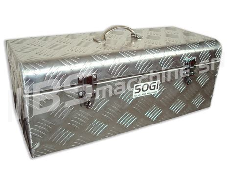 cassetta alluminio baule portautensili cassetta alluminio sogi ble 58