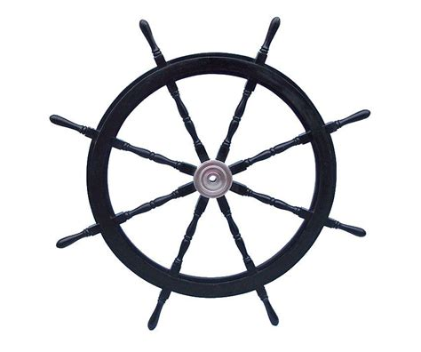 ship wheel decor buy deluxe class wood and chrome decorative pirate ship