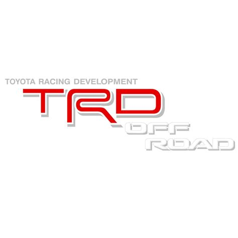 Toyota Trd Stickers Toyota Trd Road White Silver Decals Decal County